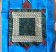 "A feature block from ""On Turtle Pond"" made for my first great grandson."