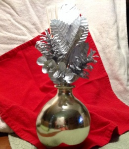 """This year's """"tree,"""" a five-dollar fragrance infuser."""