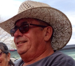 This is my man, Pat, at a birthday party in Quartzsite, AZ in March, just prior to his ordeal.